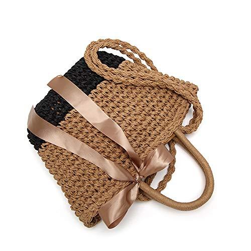 Main Sac d'été à Convient bandoulière à et bandoulière à Main en Sacs Usage Paille Sac pour Femme Sac Tissu Un à pour Portable Asdflina Quotidien en Fq5Rwx5Z