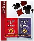 France cartes - 404455 - Jeu de Cartes - 2 jeux de 54 cartes