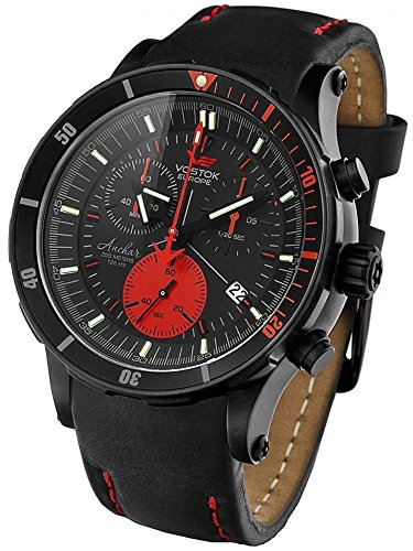Vostok Europe Mens Watch Anchar Chrono Quartz 6S30-5104244