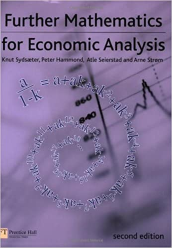 Essential Mathematics For Economic Analysis PDF