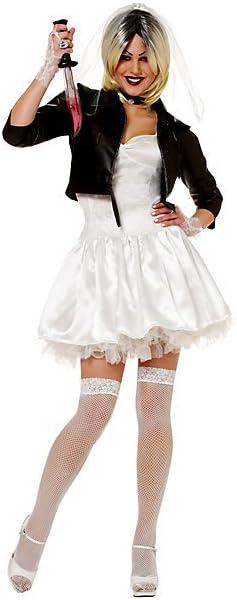 Para mujer Sexy disfraz infantil de novia de Chucky: Amazon.es: Hogar