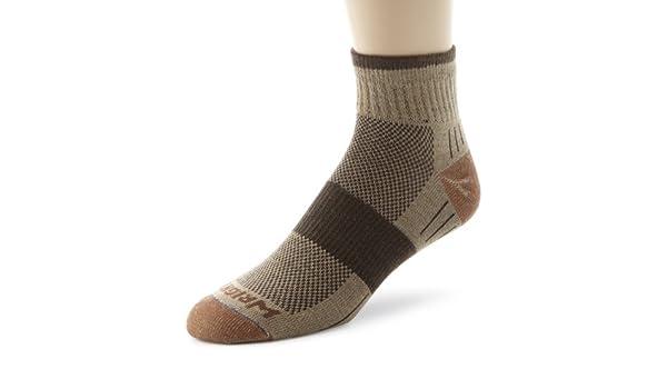 Wrightsock Mens Escape Quarter Single Pair Socks: Amazon.es: Zapatos y complementos