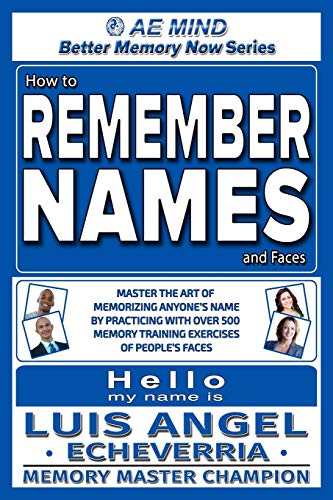 Pdf Teaching How to Remember Names and Faces: Master the Art of Memorizing Anyone's Name By Practicing with Over 500 Memory Training Exercises of People's Faces