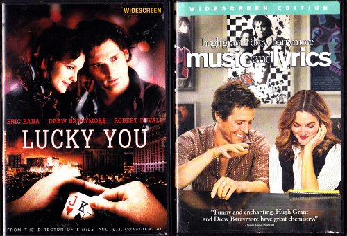 Music And Lyrics , Lucky You : Drew Barrymore 2 Pack Collection
