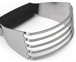 Pastry Blender Stainless Steel Dough Blender 5 Blades Cutter Flour Mixer Non-Slip Bake Tools Kitchen Accessories
