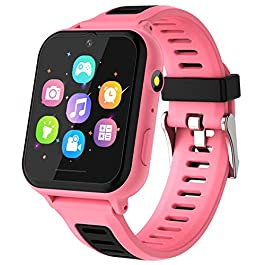 Kids Smart Watch, Kids Game Smartwatch for Boys Girls with Camera Video Alarm Clock Record Music Player Calculator HD…