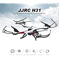 JJR/C H31 RC Quadcoper Headkess mode 2.4G 4-CH 6Axis Waterproof Drone Toy with Camera and Wifi White