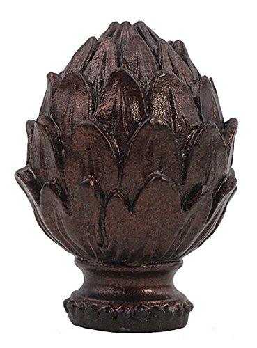Urbanest Artichoke Lamp Finial, Oil-rubbed Bronze, 2-inch Ta