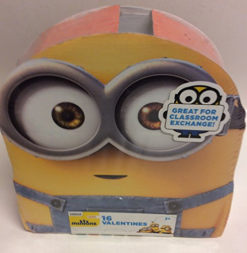 Universal Minions Valentines Day Cards 16 Count
