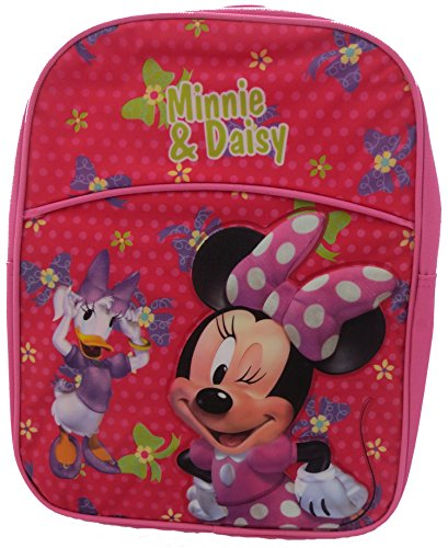 Disney Minnie Mouse and Daisy Pink Backpack