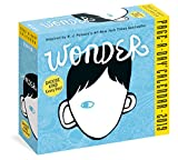 img - for Wonder Page-A-Day Calendar 2019 book / textbook / text book
