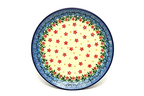 Polish Pottery Plate - Salad/Dessert (7 3/4