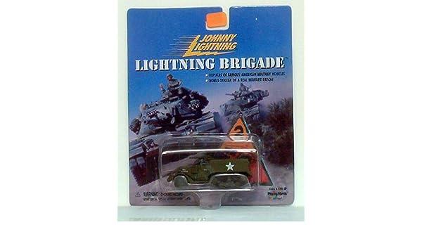 WWII M-16 ANTI-AIRCRAFT HALF TRACK      JOHNNY LIGHTNING LIGHTNING BRIGADE  1:64