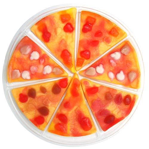 Mega Gummy Candy 7 Slice Pizza, 3.01 Ounce