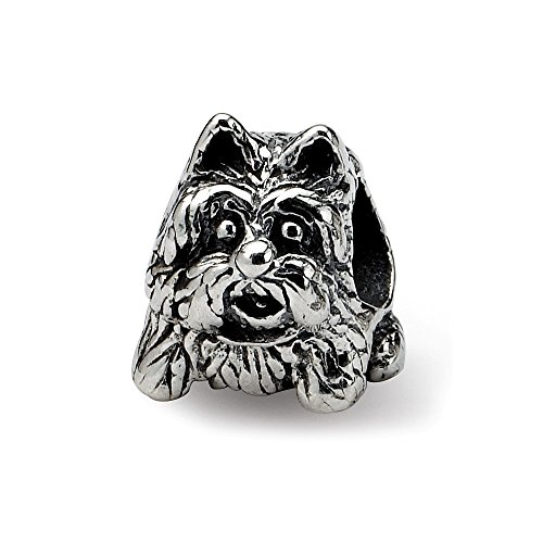 (925 Sterling Silver Charm For Bracelet Scottish Terrier Dog Bead Animal Fine Jewelry Gifts For Women For Her)