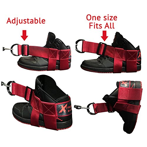 (XTREME Glute Strap - ADJUSTABLE- #1 GLUTE RESULTS-GUARANTEED- helps Tone, Lift, Shape and Strengthen Exercise Accessory for Gym, Home, Outdoors- YOUTUBE VIDEOS available
