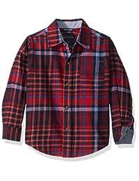 Nautica Boys' Flannel Button-Down