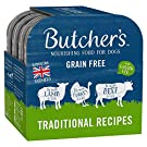 BUTCHER'S Wet Dog Food Trays Grain Free Traditional Recipes 24 x 150g