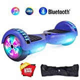 "jolege Hoverboard Smart Scooter Two-Wheel Self Balancing Electric Scooter 6.5""Hover Board UL2272 Certified Battery Protection with 300W Dual Motors-Blue"