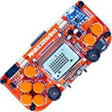 MAKERbuino kit with tools - soldering kit - Arduino - DIY retro game console for kids - learn electronics and programming - micro USB - tools included - USB soldering iron