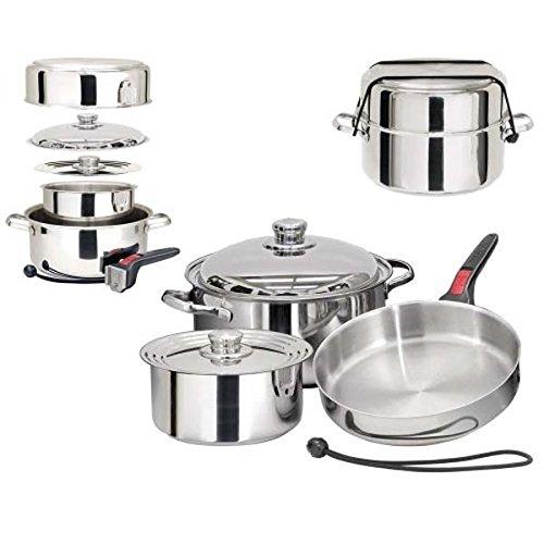 7 piece pot and pan set - 2