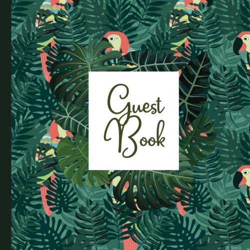 Guest Book: Luau Guest Book Includes Gift Tracker and Picture Memory Section to Create a Lasting Keepsake to Treasure Forever (Luau Party ... Invitations,Luau Party Supplies) (Volume 4) -