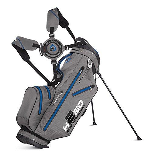 Sun Mountain H2NO Lite Golf Stand Bag- Black/Gray/Cobalt - 2015 Closeout