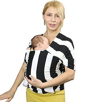 61bd0d41ac1 Threeh bébé Sling Carrier d allaitement allaitement Motif Coton et de  polyester Wrap Bc15
