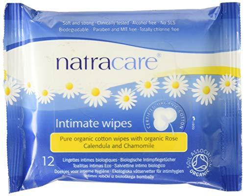 Natracare Cotton Organic Feminine Wipes - 2
