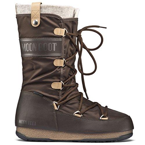 Moon Boot We Monaco Felt - Botas para mujer marrón