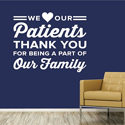 Thank You For Being A Part Of Our Family. - 0347 - Home Decor - Wall Decor - Chiropractic - Health - Thank you - Doctor - Dentist - Thanks - Patients ()