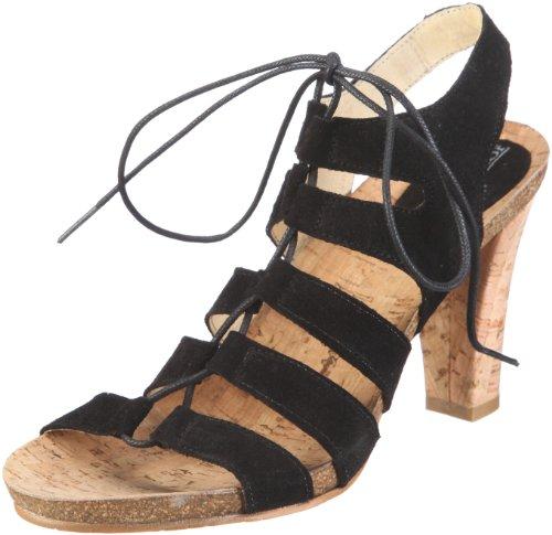 John Viginia Sandali Shoes W 1084 Donna Nero rvxva4