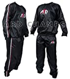 Heavy Duty Sweat Suit Sauna Exercise Gym Suit Fitness Weight Loss Anti-Rip Small to 6XL from ARD-Champs