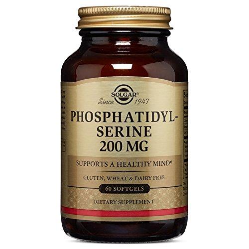Solgar Phosphatidylserine 200 Mg Softgels, 60 Count