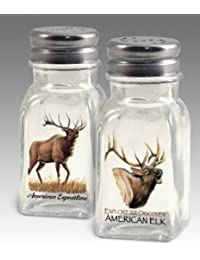 Access American Expedition Elk Salt and Pepper Shakers deliver