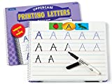 Lakeshore Printing Uppercase Letters Practice Book