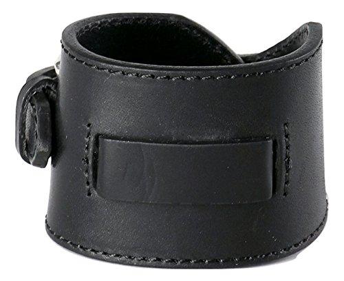 Diesel Women's A-Molly Leather Cuff Bracelet, Black