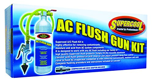 TSI Supercool 27361 A/C Flush Gun with Flow Control Valve and Improved Spray Head by TSI Supercool (Image #1)