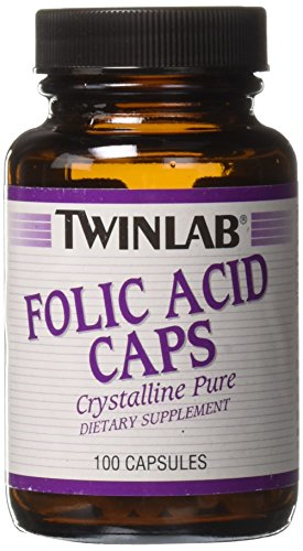 (Folic Acid 800mcg Twinlab, Inc 100 Caps)