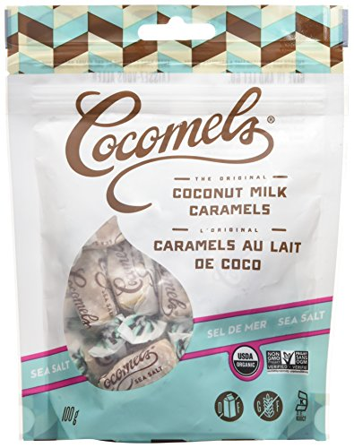 Cocomels Coconut Milk Caramels - Organic - Made Without Dairy - Sea Salt 6 Pack