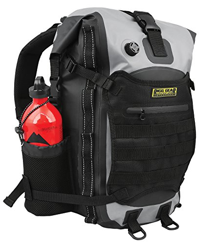 Sport Tail Pack - Nelson-Rigg SE-3020 Rigg Gear Hurricane 20L Waterproof Backpack/Tail Pack,1 Pack