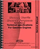Massey Harris All Continental Z145 Service Manual