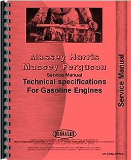 massey harris service perkins continental engine specs tech data rh amazon com Manual Data Icon All Data Manuals