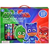 PJ Masks Stamps & Sticker Play Set with Alphabets