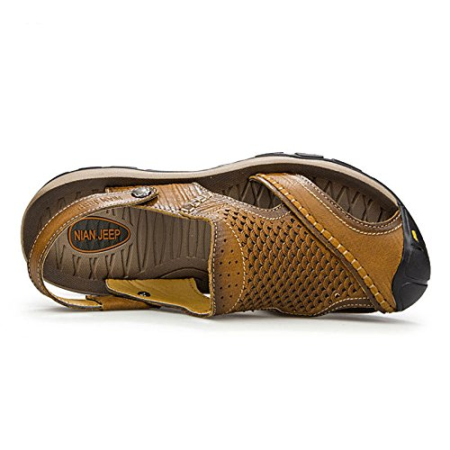 Fashion Sandali Shoes Baotou Brown Sandali Beach wq0ttv