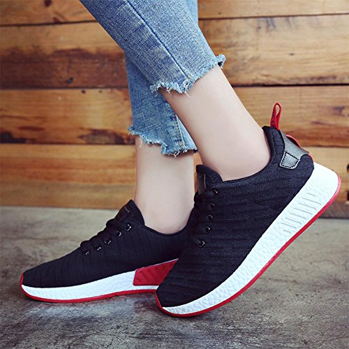 Mei Automne Sport Chaussures Femmes Casual Chaussures Bas-top Chaussures Bas-top Chaussures, Us6.5-7 / Eu37 / Uk4.5-5 / Cn37