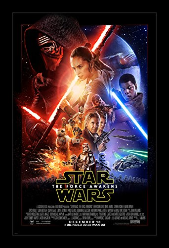 Star Wars The Force Awakens - 11x17 Framed Movie Poster by W