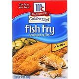 Mccormick Golden Dipt Fish Fry Seafood Fry Mix, 10 Ounce -- 12 per case.