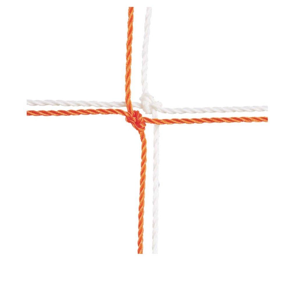 Championスポーツジュニアサイズサッカーネット、2.5 MM、オレンジ B003GSVYRG Medium ホワイト ホワイト Medium