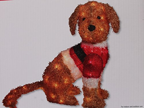 24 Lighted Goldendoodle by Ashland